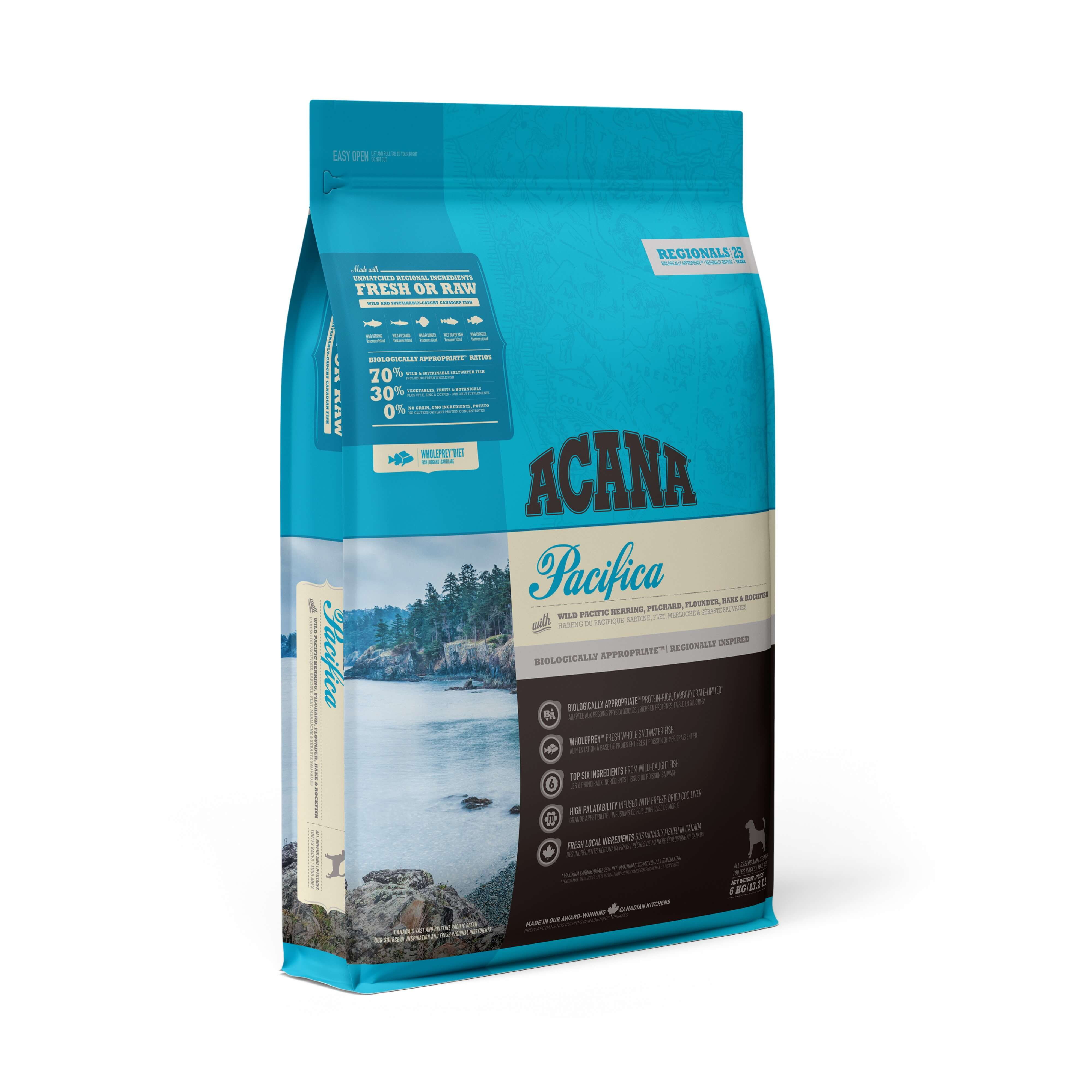 Acana Pacifica Dog | 2kg - Click to enlarge picture.
