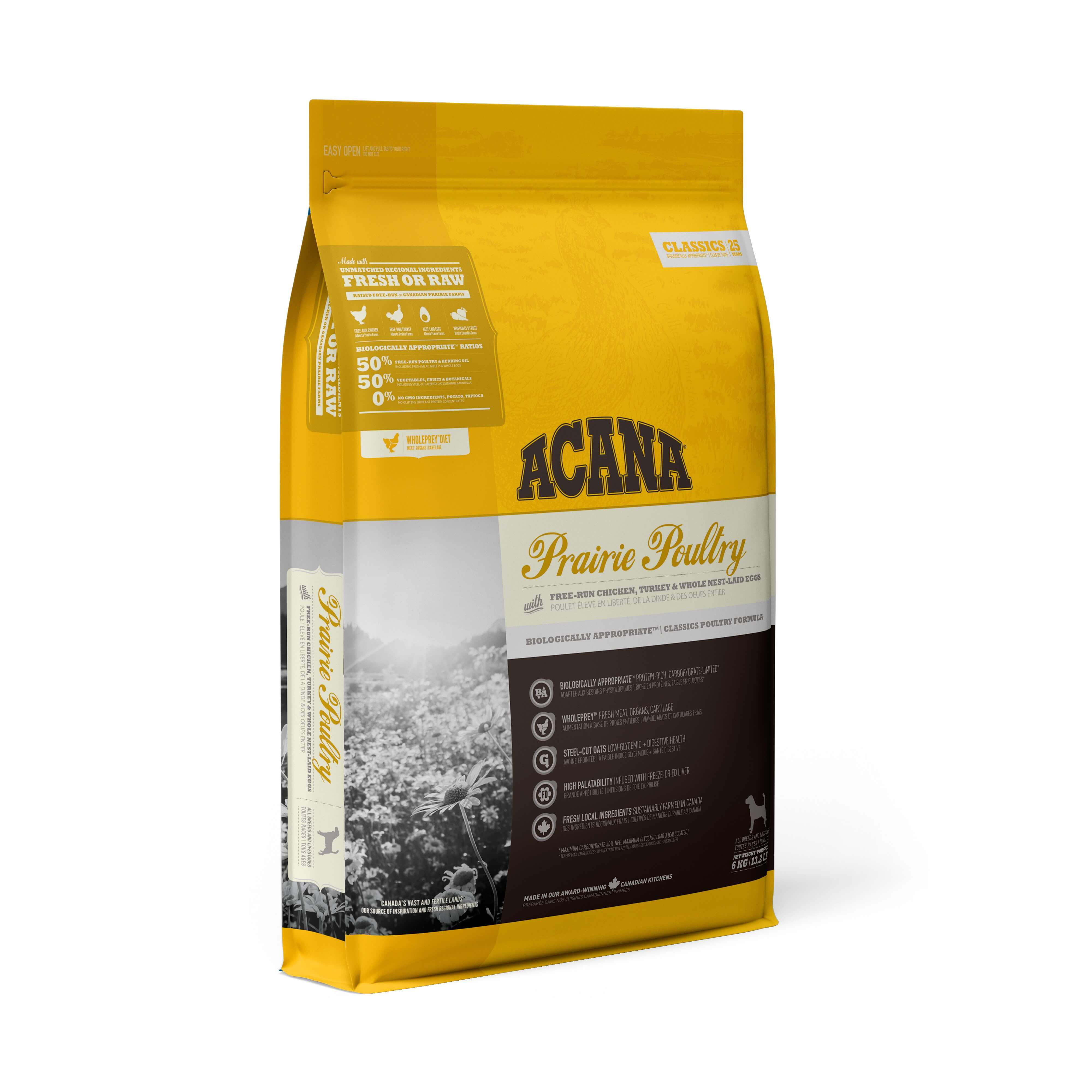 Acana Prairie Poultry | 17kg - Click to enlarge picture.