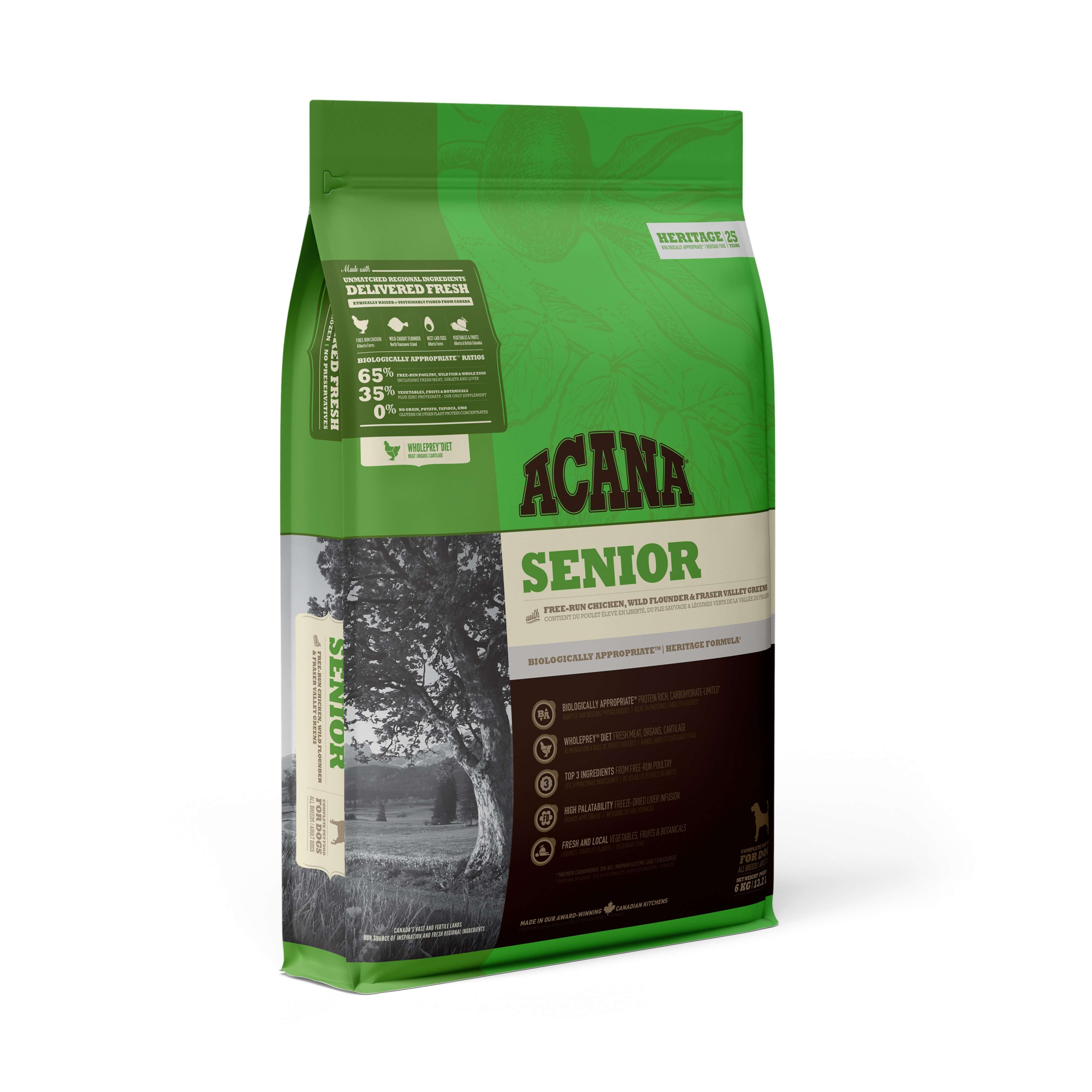 Acana Senior | 2kg - Click to enlarge picture.