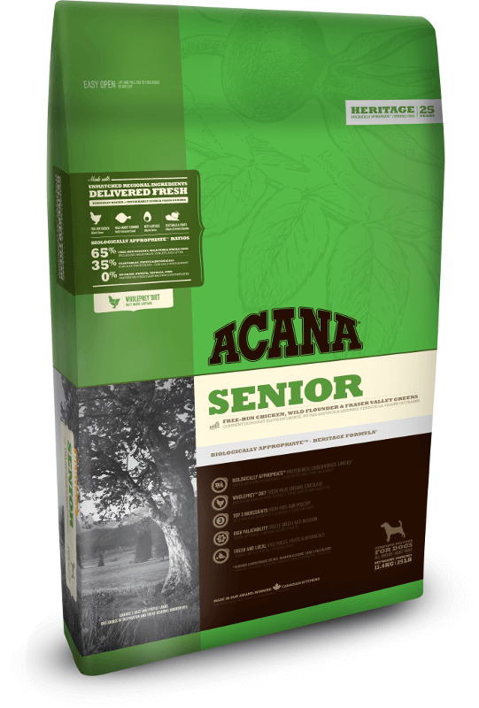 Acana Senior | 11.4kg - Click to enlarge picture.