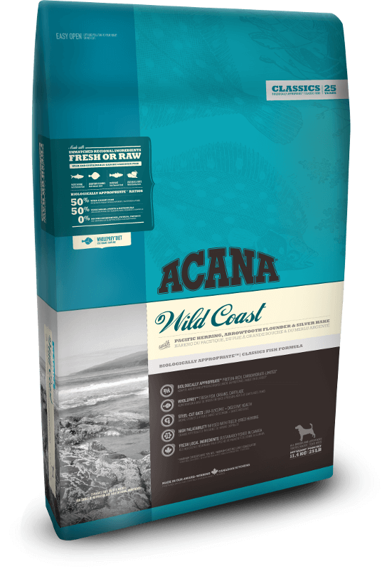 Acana Wild Coast | 340gm - Click to enlarge picture.
