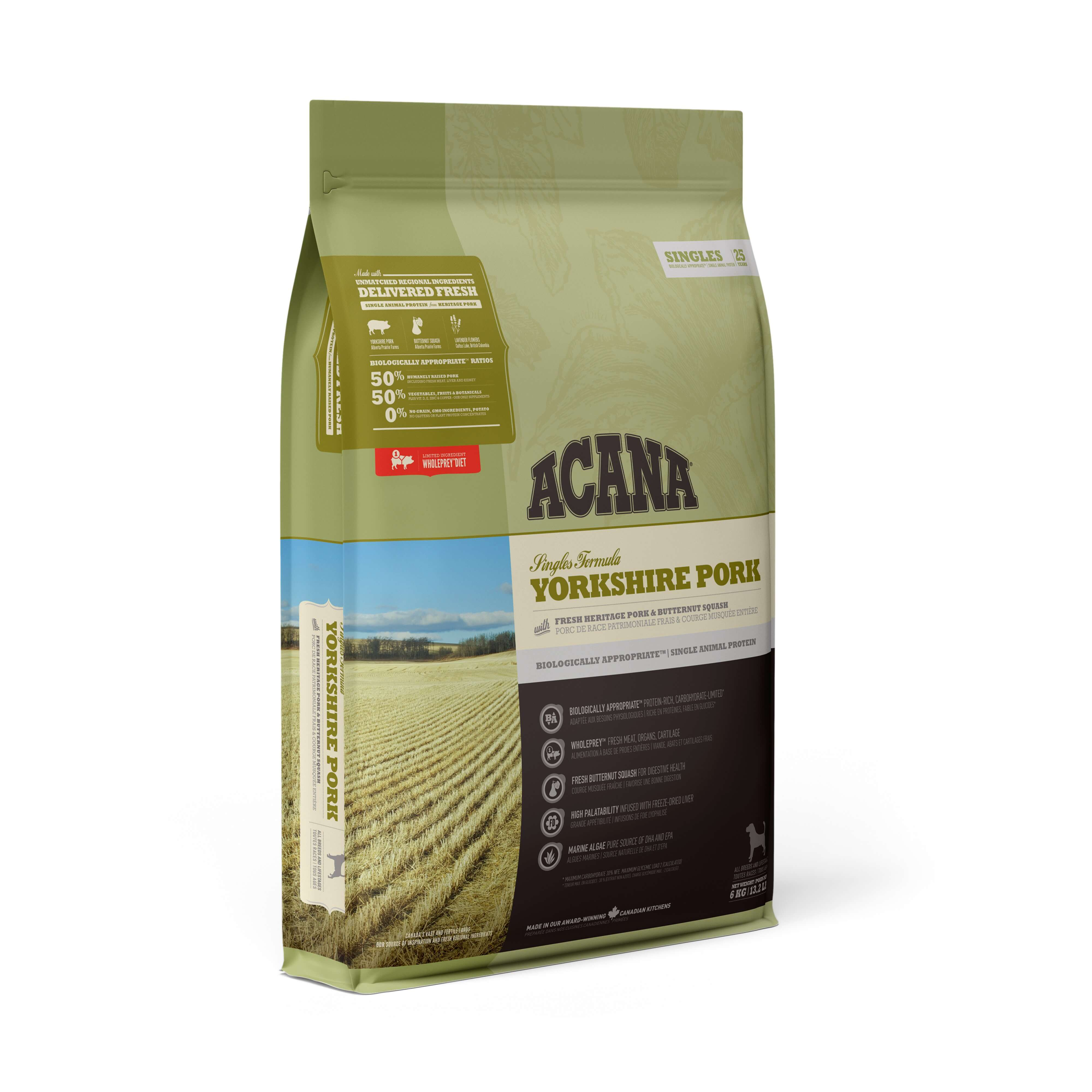 Acana Yorkshire Pork | 2kg - Click to enlarge picture.