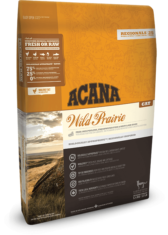 Acana Wild Prairie Cat | 340gm - Click to enlarge picture.