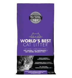 World's Best Cat Litter - Scented Multi Cat Formula | 3.18kg