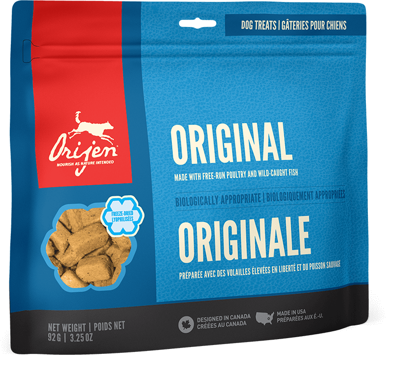 Orijen Dog Treats - Original | 42.5gm - Click to enlarge picture.