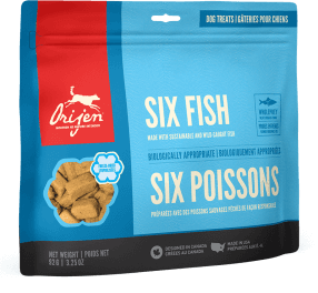 Orijen Dog Treats - Six Fish | 92gm
