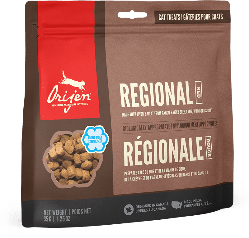 Orijen Cat Treats - Regional Red | 35gm - Click to enlarge picture.