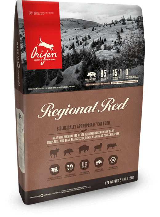 Orijen Regional Red Cat | 340gm - Click to enlarge picture.