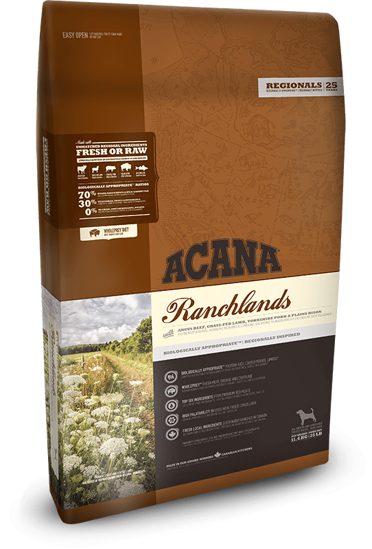 Acana Ranchlands Dog | 2kg - Click to enlarge picture.