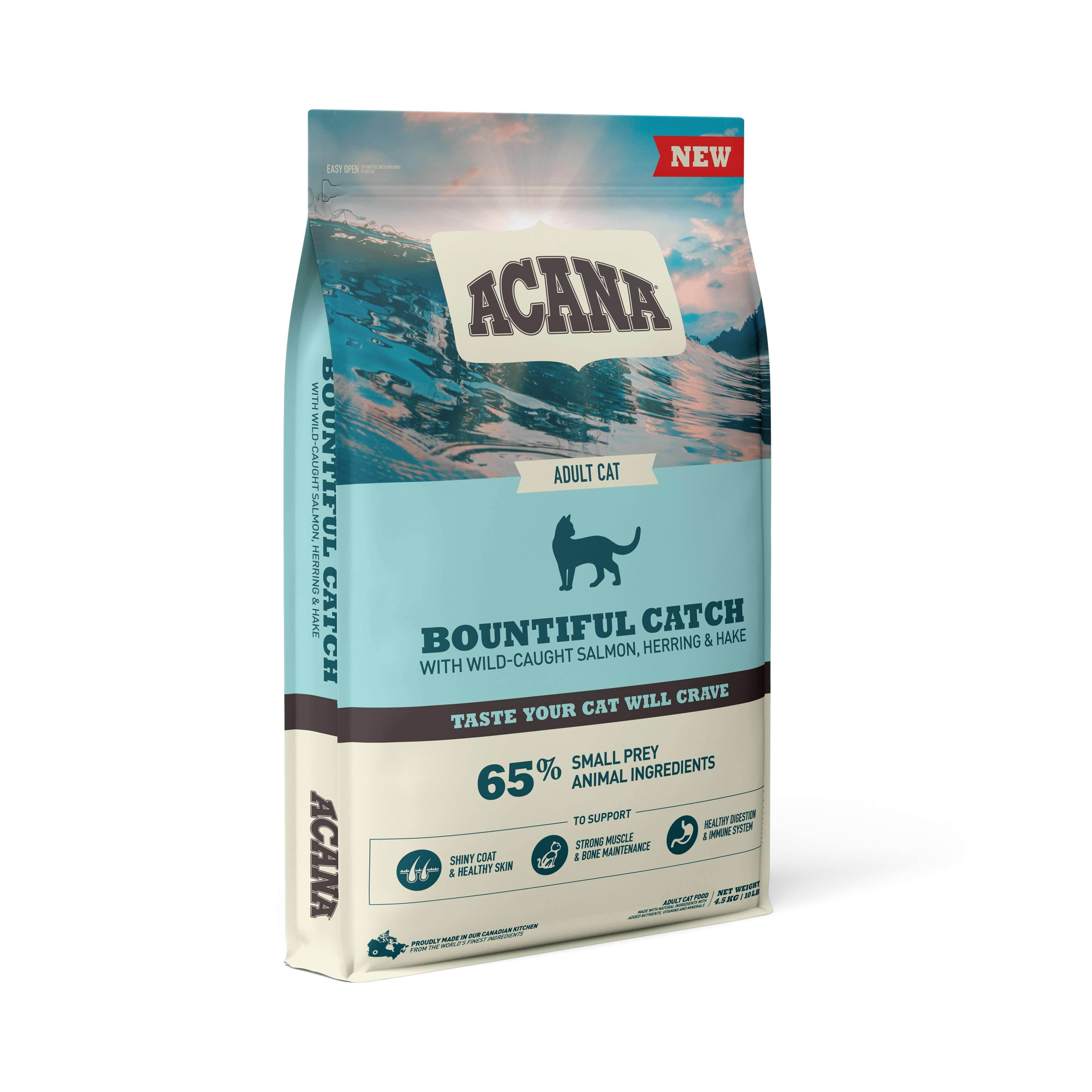 Acana Bountiful Catch Cat | 1.8kg - Click to enlarge picture.