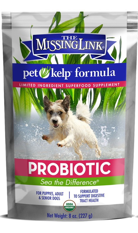 Pet Kelp DOG - Probiotic Formula - non GMO | 227gm - Click to enlarge picture.